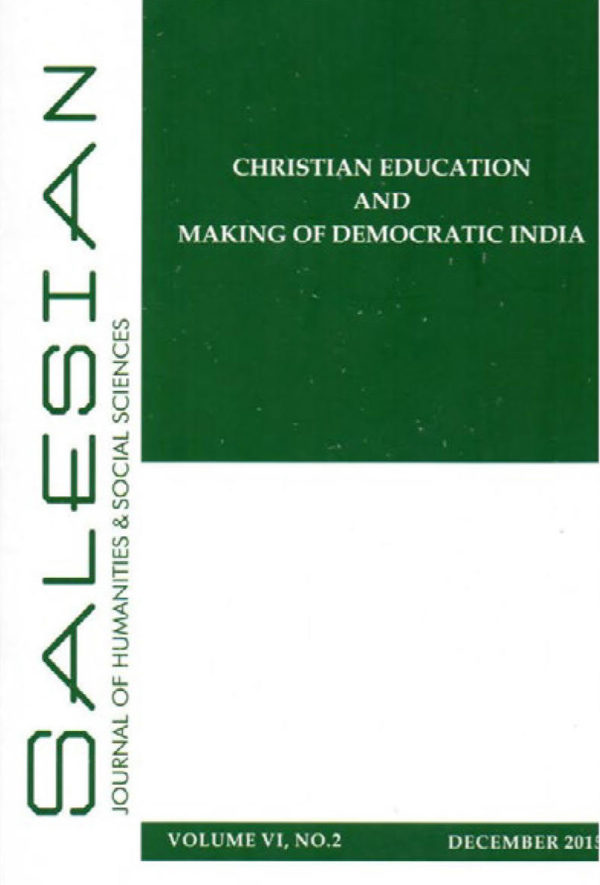 Christian Education And Making Of Democratic India